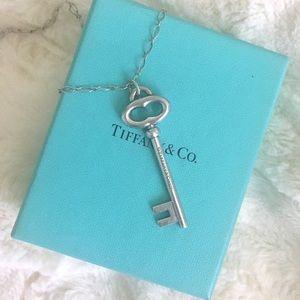 Authentic Tiffany Key Necklace